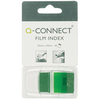 Q-Connect Page Marker 1 inch Pk50 Green KF03635