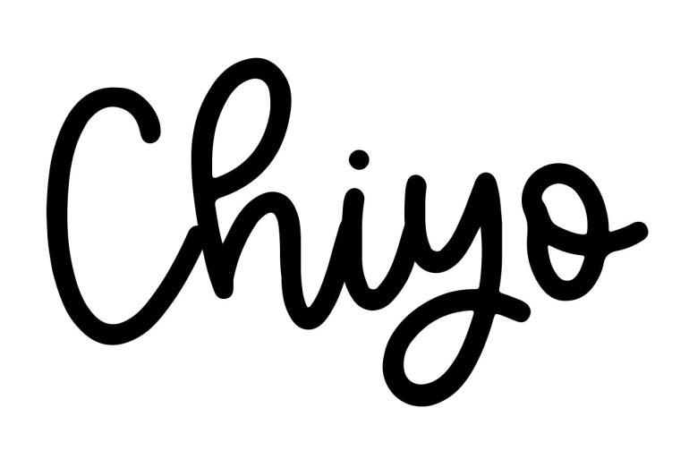 About the baby nameChiyo, at Click Baby Names.com