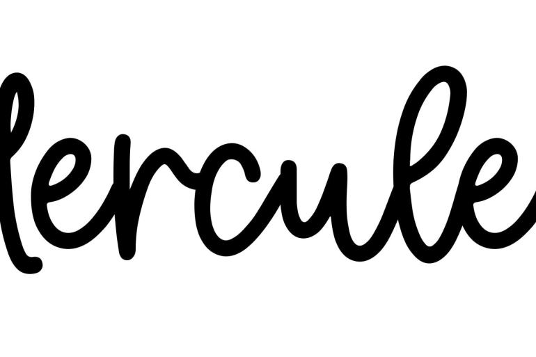 About the baby nameHercules, at Click Baby Names.com