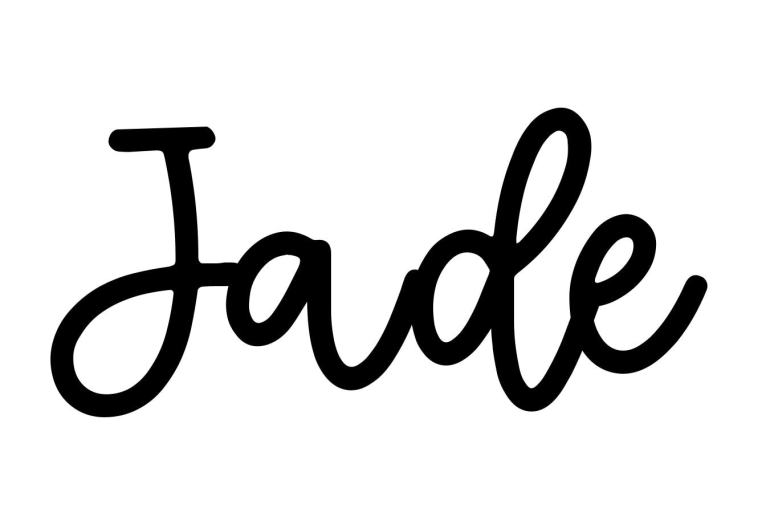 About the baby name Jade, at Click Baby Names.com