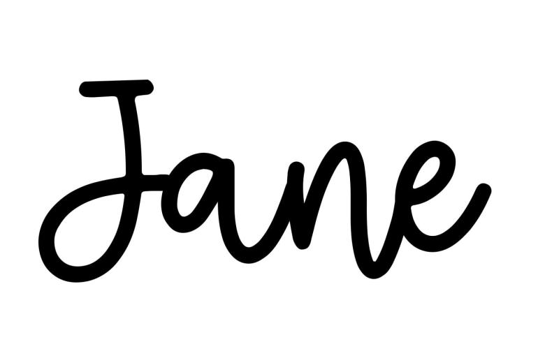 About the baby name Jane, at Click Baby Names.com