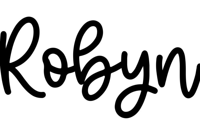 About the baby name Robyn, at Click Baby Names.com