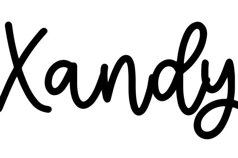 About the baby name Xandy, at Click Baby Names.com