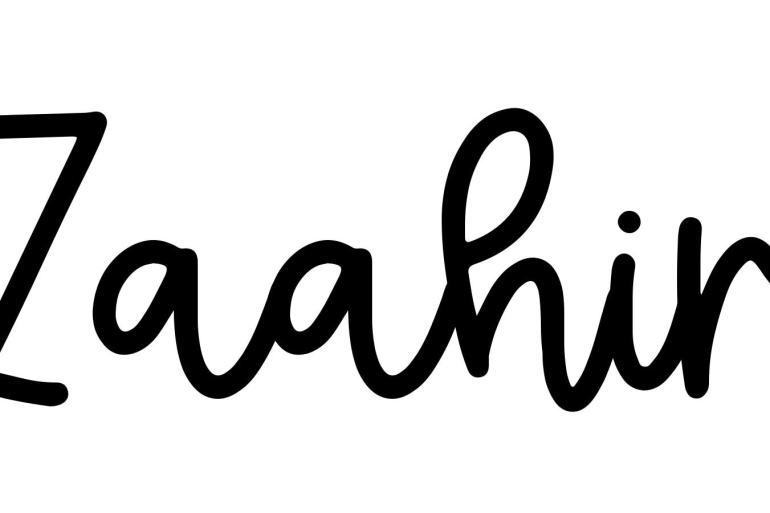 About the baby nameZaahir, at Click Baby Names.com