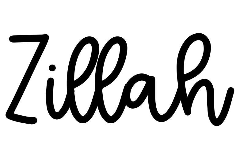 About the baby nameZillah, at Click Baby Names.com