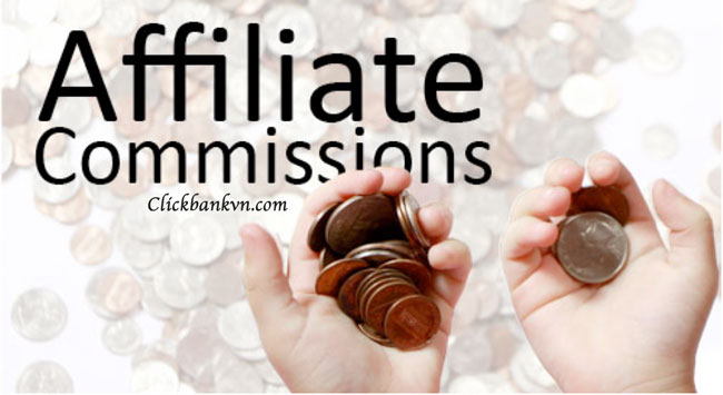 Affiliate network, affiliate commissons