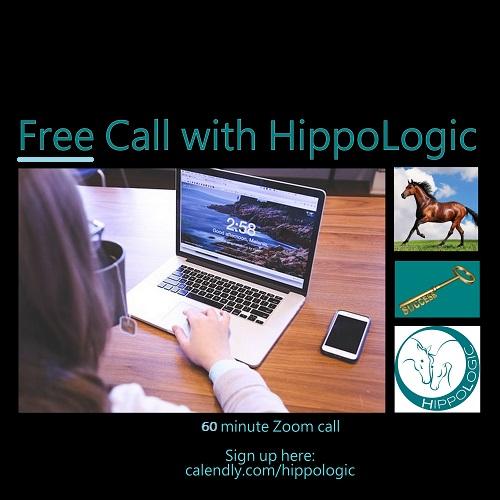 free 60 min discovery call HippoLogic clickertraining online horsetraining