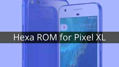 Hexa ROM on the Pixel XL