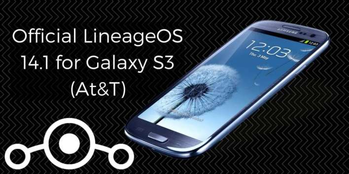 Official LineageOS 14.1 on Galaxy S3