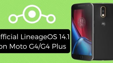 Official LineageOS 14.1 on Moto G4/G4 Plus