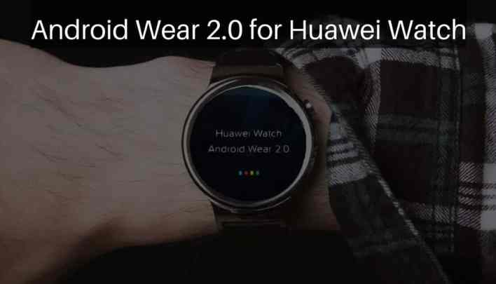 Android Wear 2.0 on Huawei Watch