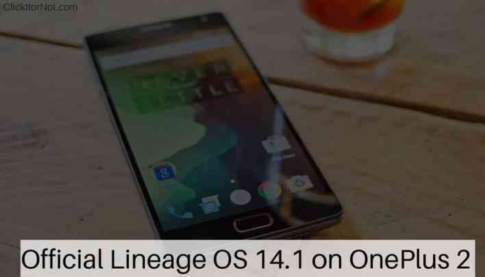 Official Lineage OS 14.1 on OnePlus 2
