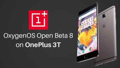 OxygenOS Open Beta 8 on OnePlus 3T