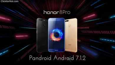 Pandroid Android 7.1.2 on Honor 8 Pro