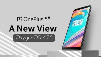 OxygenOS 4.7.2 on OnePlus 5T