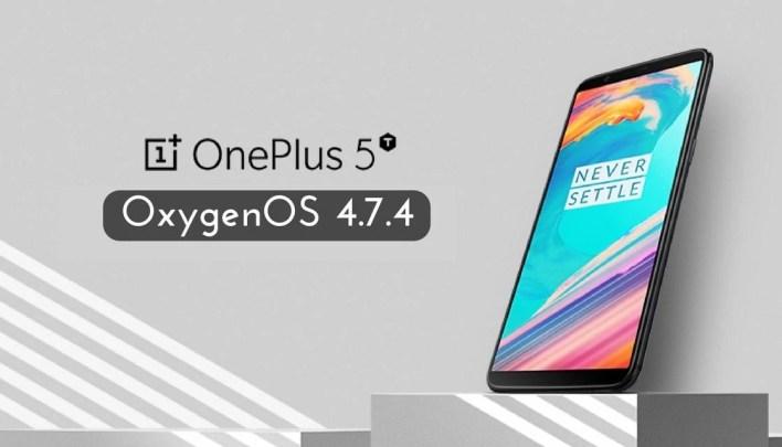 OxygenOS 4.7.4 on OnePlus 5T