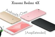 Android 8.1 Oreo on Xiaomi Redmi 4X