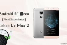 Android 8.1 Oreo on LeEco Le Max 2