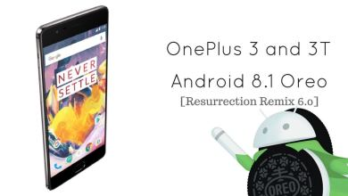 Resurrection Remix 6.0 on OnePlus 3 and 3T