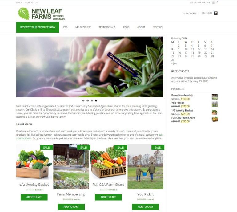 New Leaf Farms - Beyond Organic