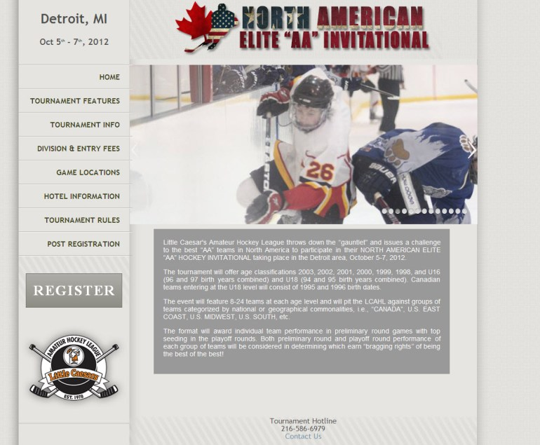 Elite Hockey Tournaments