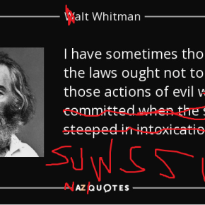 Donald Trump Has Named The New Poet Laureate Of The United States: An Evil Clone of Walt Whitman Called 'Alt Whitman'
