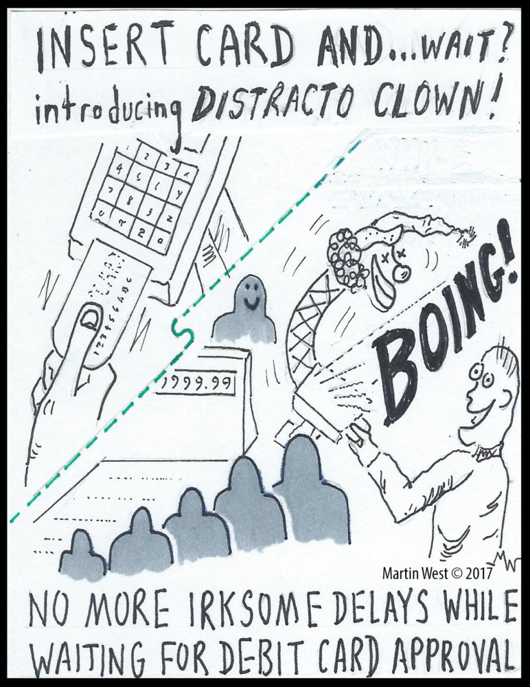 MT#427 Distracto-Clown by Martin West