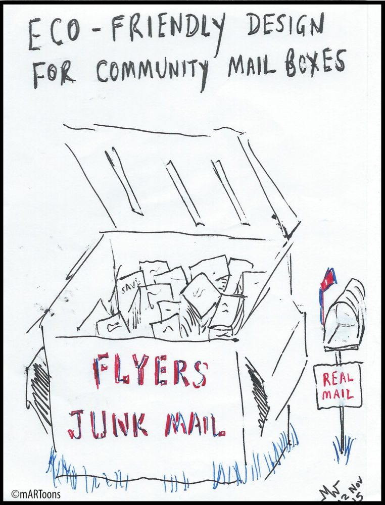 MT#87 Mail Dumpster by Martin West