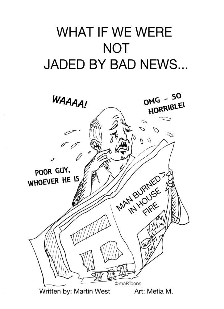 MT#88 Unjaded Newswatcher by M. West & Tia