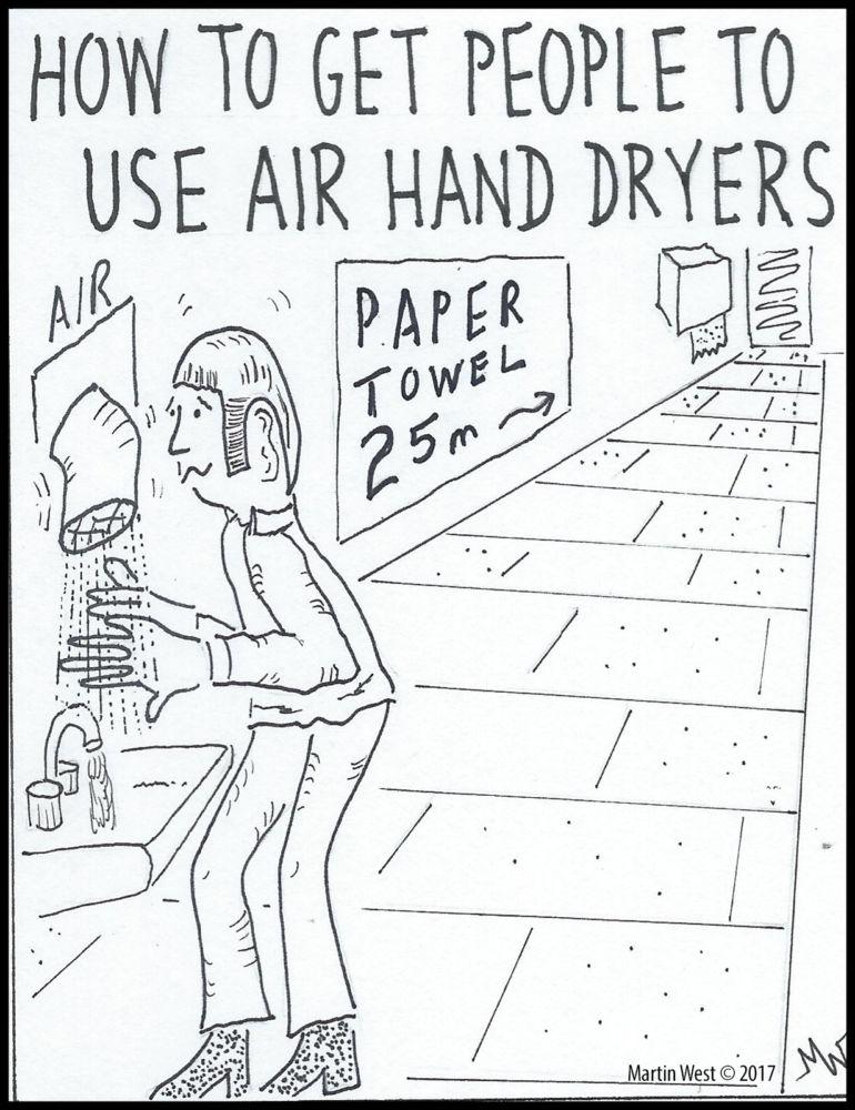 MT#101 Hand Dryer 25m by Martin West
