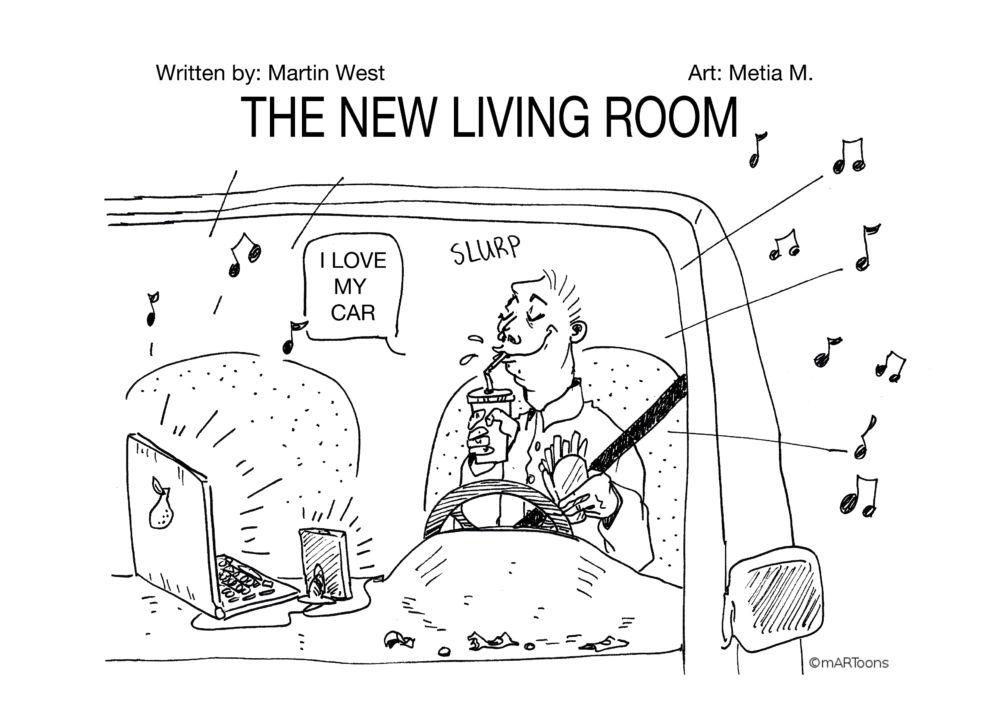 MT#175 Car Living Room