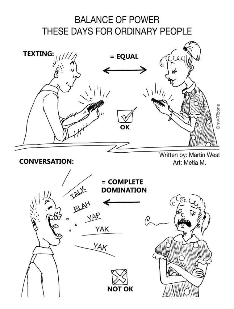 MT#203 Text Vs. Talk