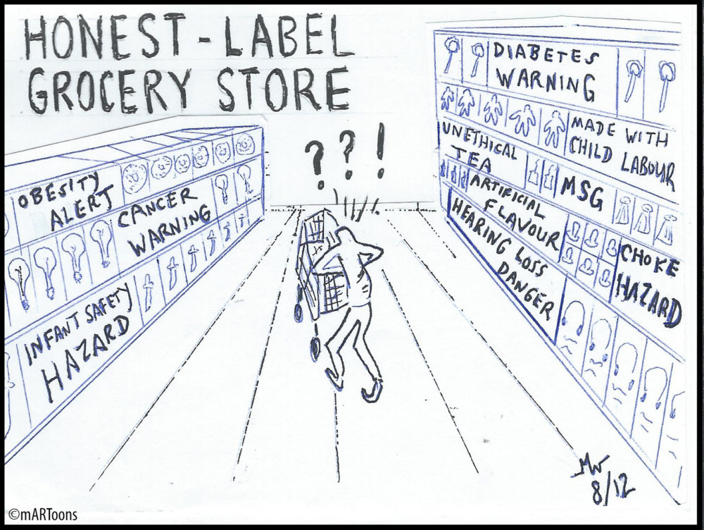 MT#206 Honest Label Grocery Store by Martin West