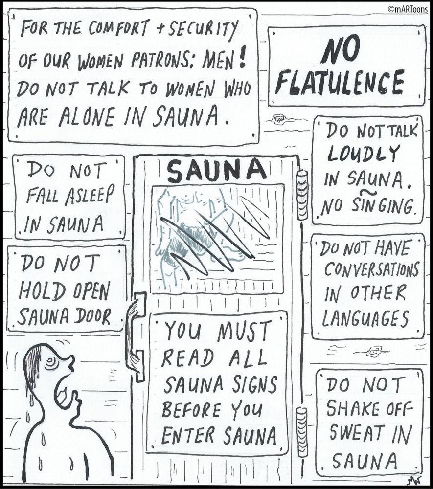 MT#219 Sauna by Martin West