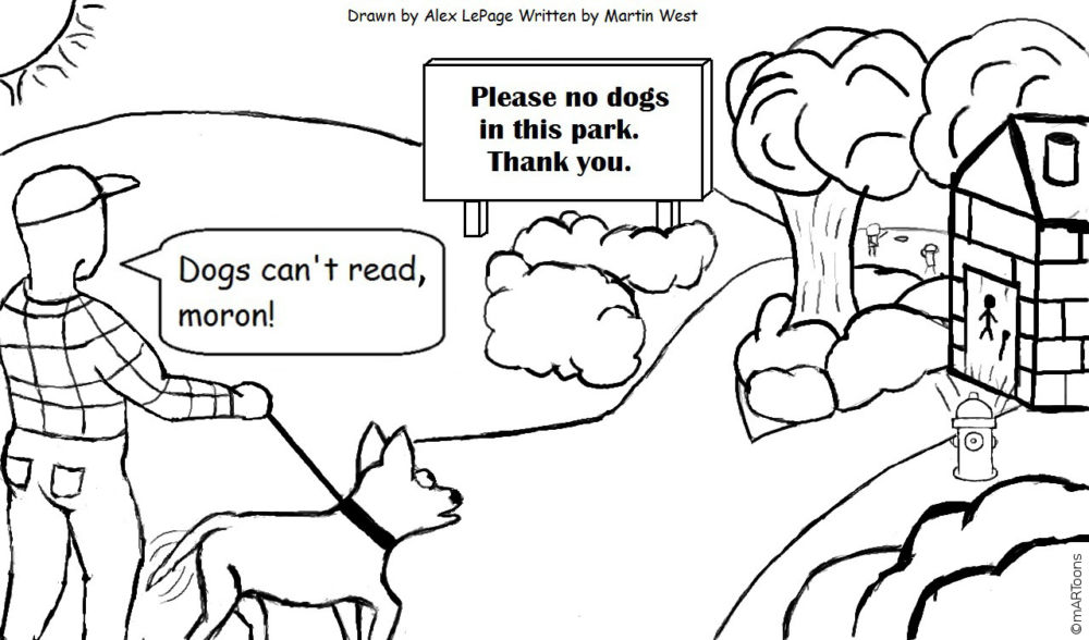 MT#222 Dog Park by Martin West & Alex Lepage
