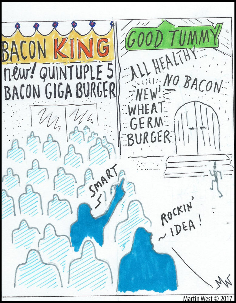 MT#234 Bacon King by Martin West