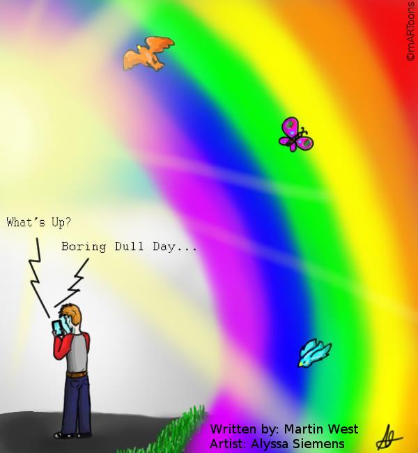 MT#246 Rainbow by M. West & Alyssa Siemens