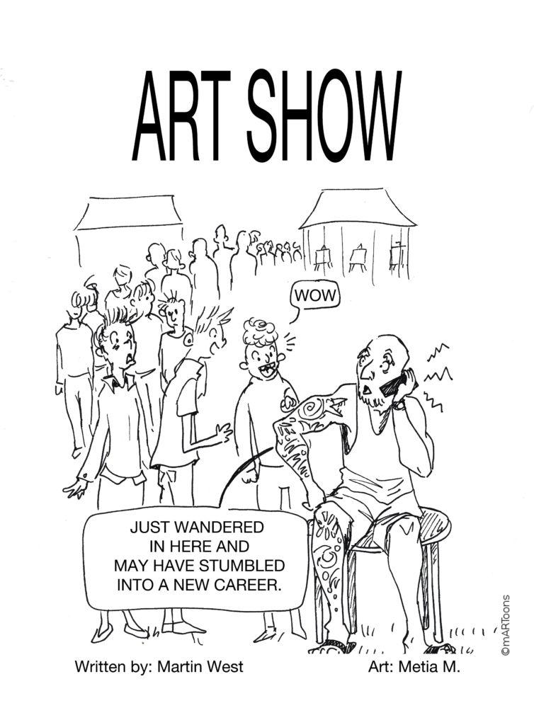 MT#263 Art Show Arm by Martin West & Tia