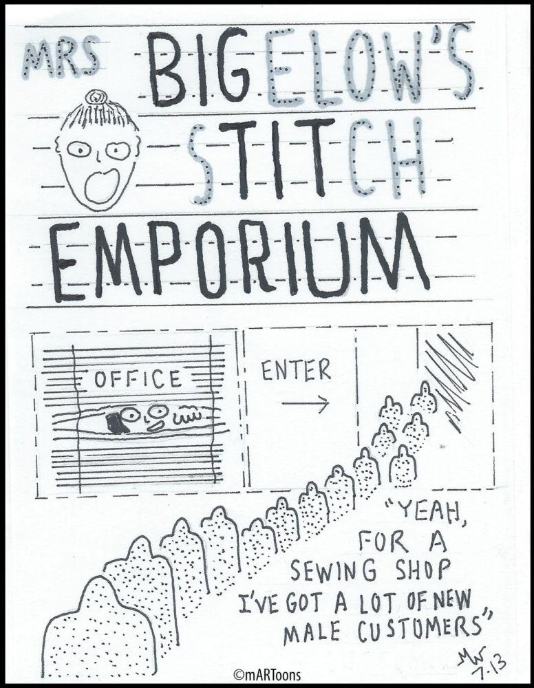 MT#317 Tit Emporium by Martin West