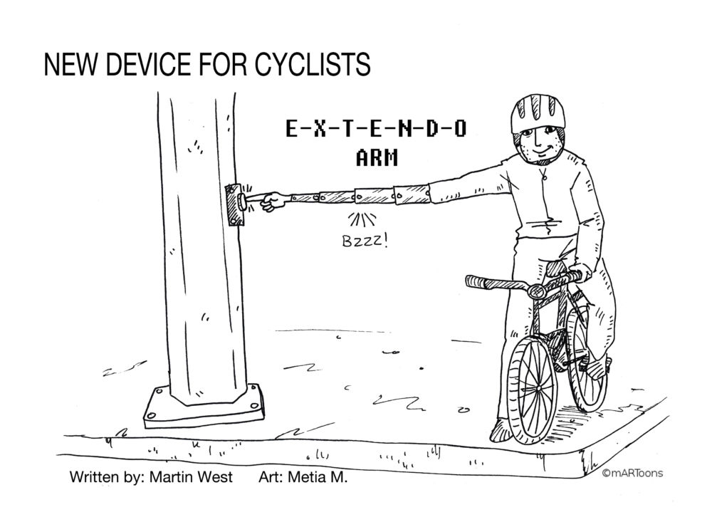 Best of August: MT#350 Cyclist Auto Arm