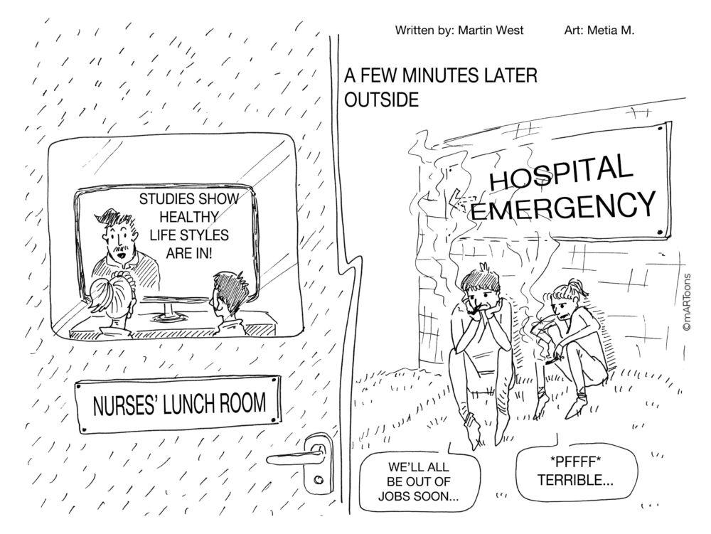 MT#396 Smoking Nurses by Martin West & Tia