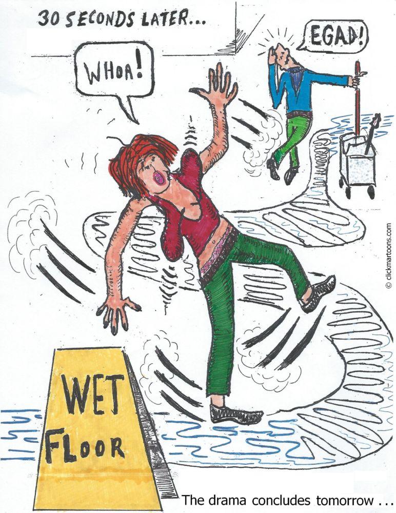 MT#640 Wet Floor part 2