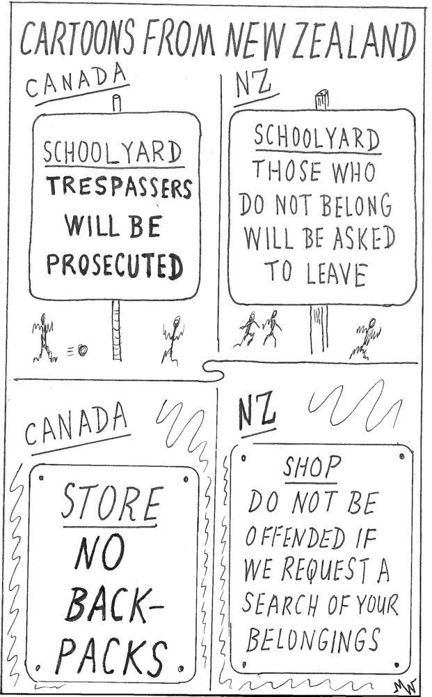 MT#654 Cartoons from New Zealand #2