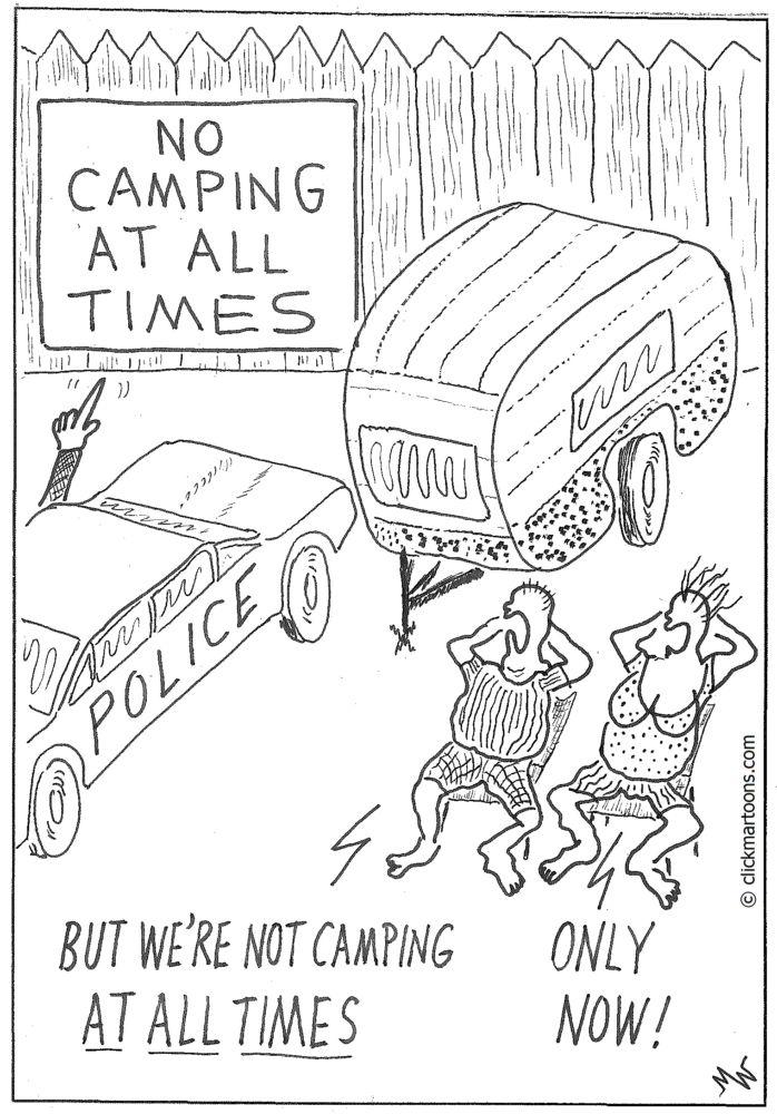 MT#660 No Camping