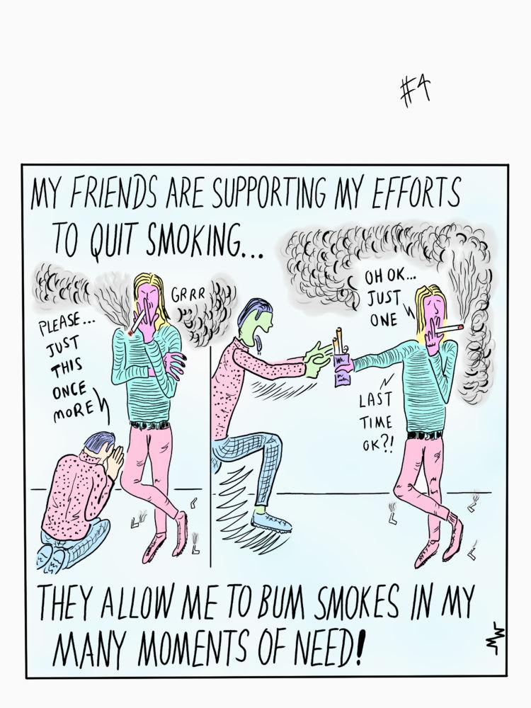 MT#699 Smoking Calendar #5
