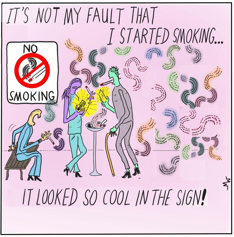 MT#757b Martoons' Smoking Calendar preview!