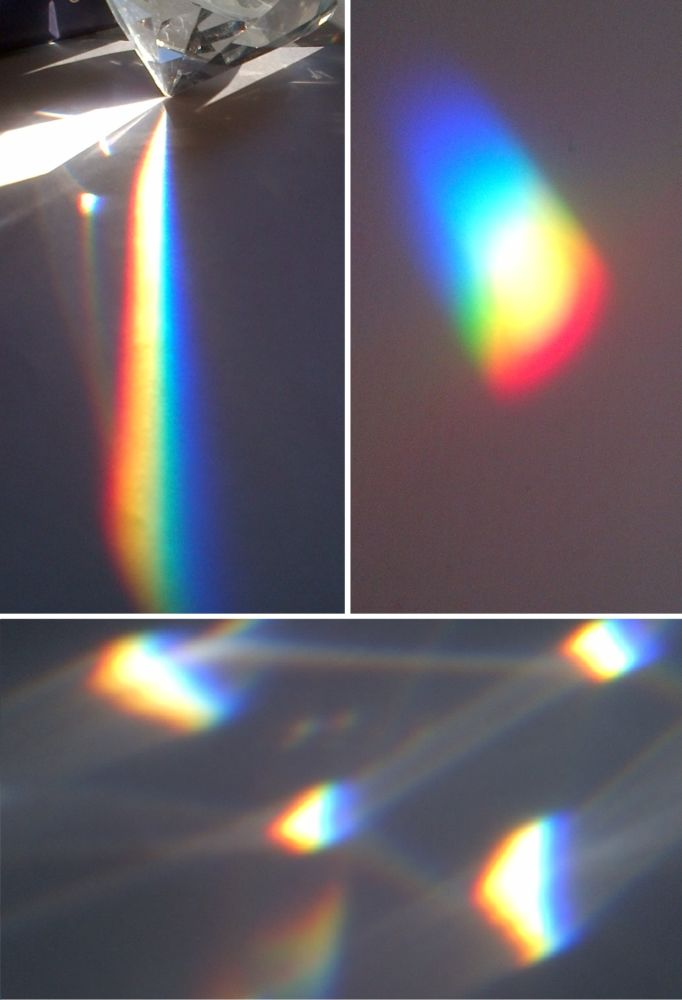 MT#1102 What happens to sunlight when it refracts through a prism