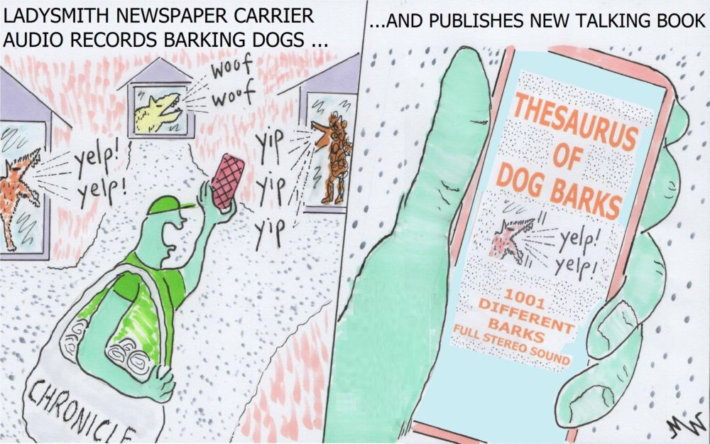 MT#1103 Diary of a newspaper carrier