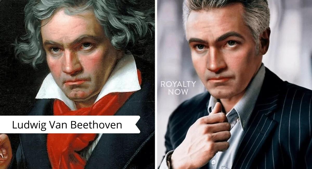 Artista transforma personagens históricos em pessoas contemporâneas