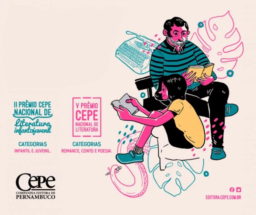 Edital: Prêmio Nacional de Literatura